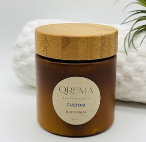 Qrema Custom Body Balm - Qrema 8 oz of your own customize body balm.