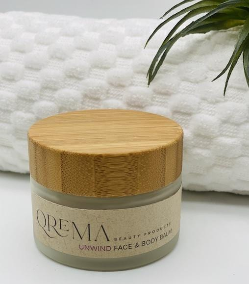 Lavender and Tea tree fuel the senses and relax your spirits. These two scents combined carry a healthy dosage of aromatherapy. Our face & body balm will help you unwind after a long stressful day at the office or life!  UNWIND has properties that help relax, soothe, relief pain, improve blood circulation, its anti-inflammatory and antimicrobial.  Ingredients: shea butter, mineral oils, fragrance essential oil and natural powder.  *Contains Tree Nuts 2oz