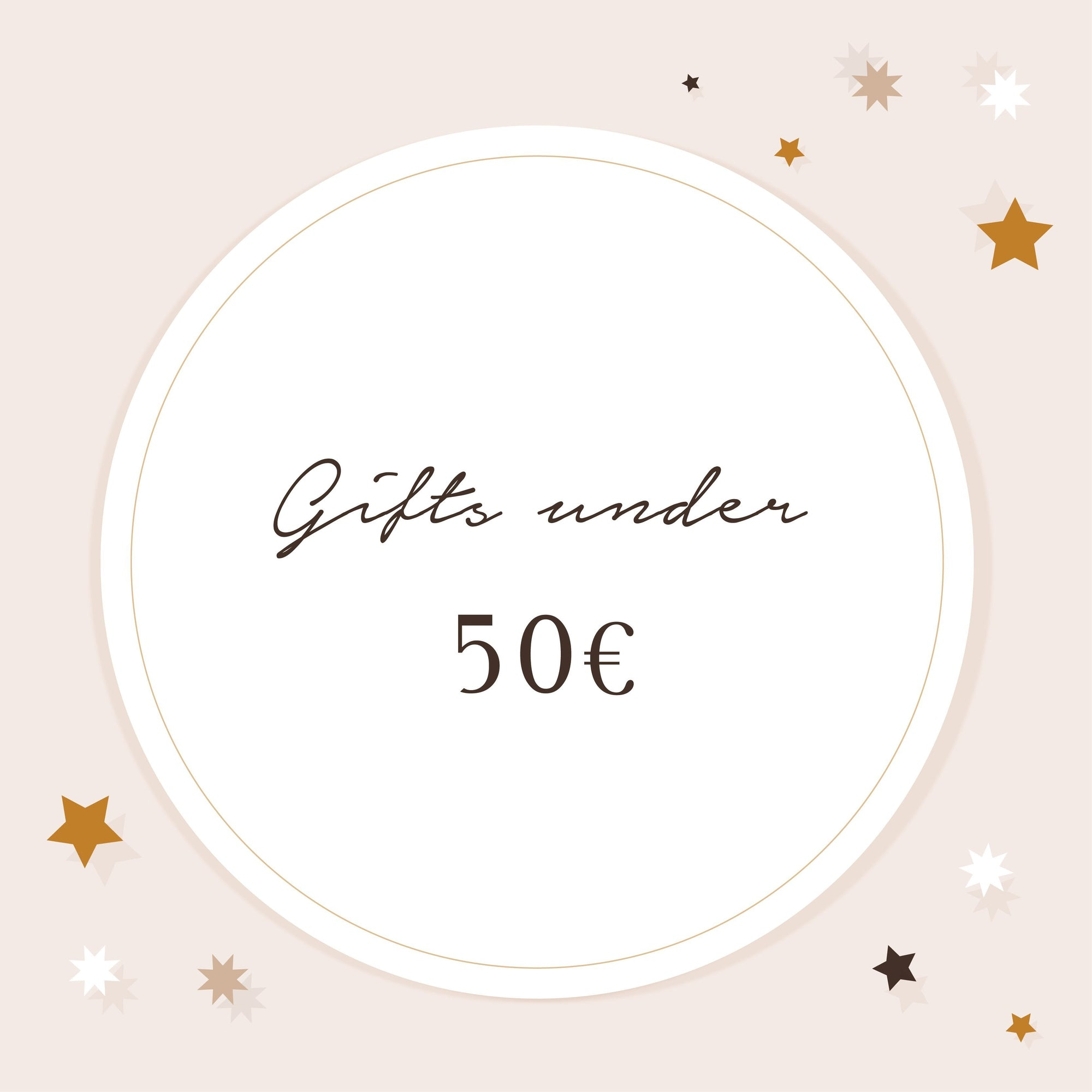Gifts under 50€ - Genuine Selection