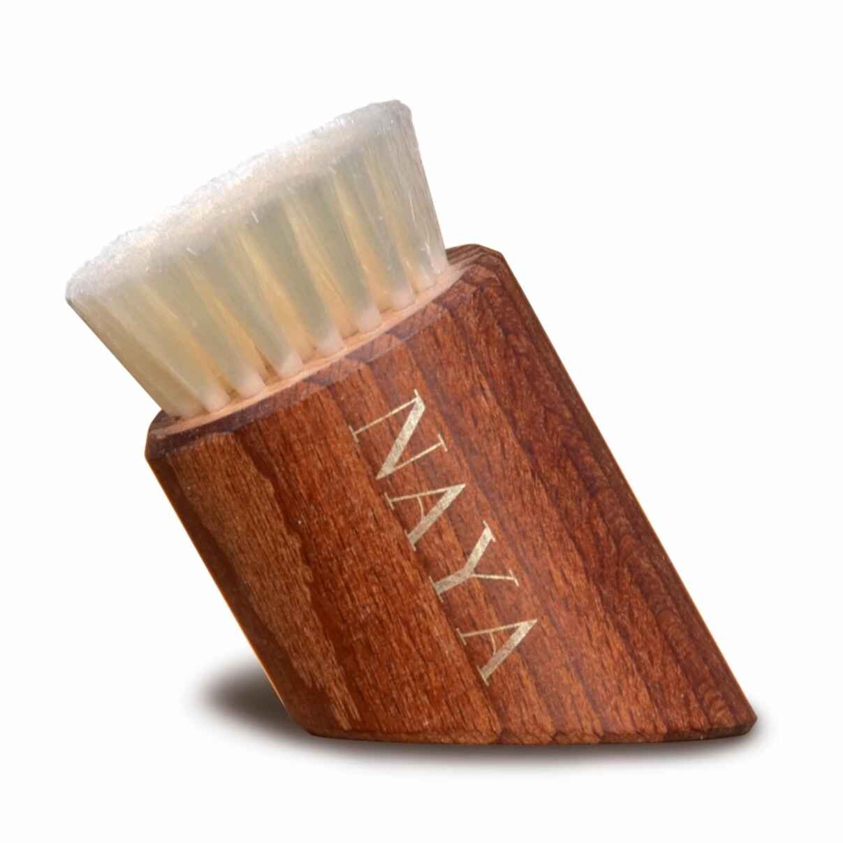 100% VEGAN & PLASTIC-FREE FACIAL DRY BRUSH Facial Tool Naya - Genuine Selection