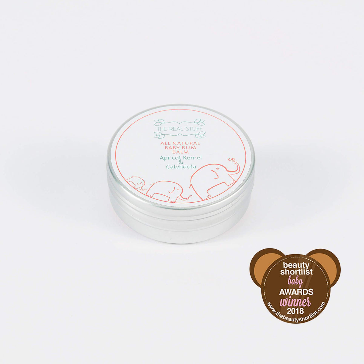All Natural Baby Bum Balm Baby The Real Stuff Organic Skincare - Genuine Selection
