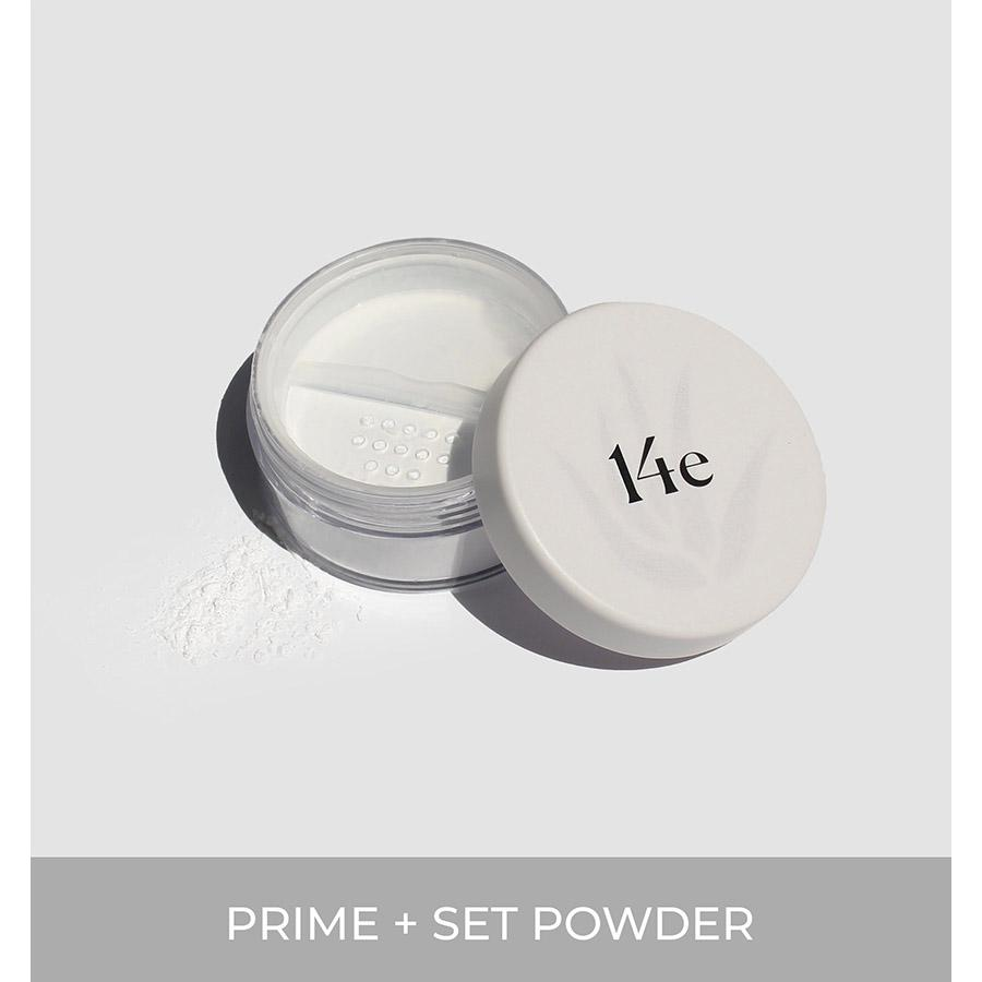 Aloe Nourish Prime + Set Powder Puder 14e Cosmetics - Genuine Selection