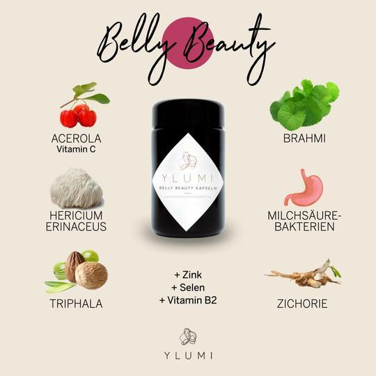 Belly Beauty Kapseln Nahrungsergänzungsmittel Ylumi - Genuine Selection