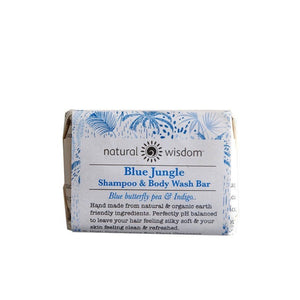 Blue Jungle Shampoo & Body Wash Bar Shampoo Natural Wisdom - Genuine Selection