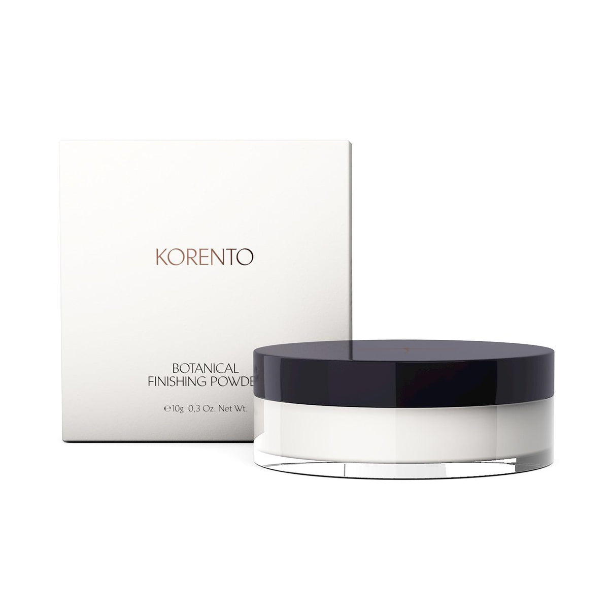 Botanical Finishing Powder Puder Korento - Genuine Selection