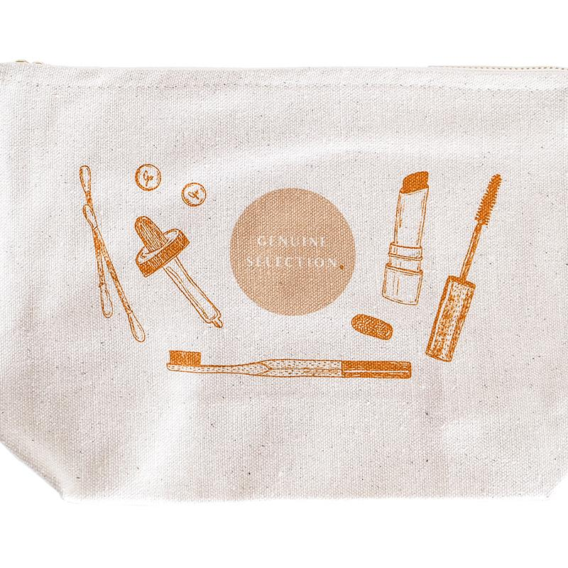 Charity Make Up Pouch x Kinderschutzengel e.V. Genuine Selection - Genuine Selection