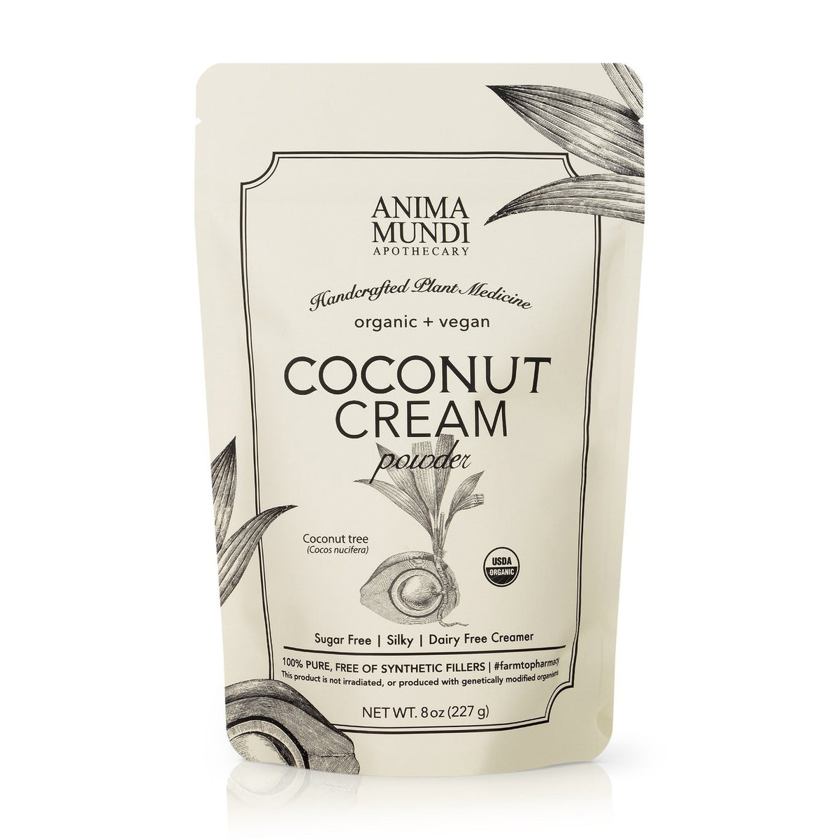 Coconut Cream Powder Nahrungsergänzungsmittel Anima Mundi Apothecary - Genuine Selection