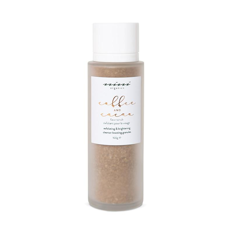 Coffee & Cacao Face Scrub Peeling NINI Organics 100g - Genuine Selection