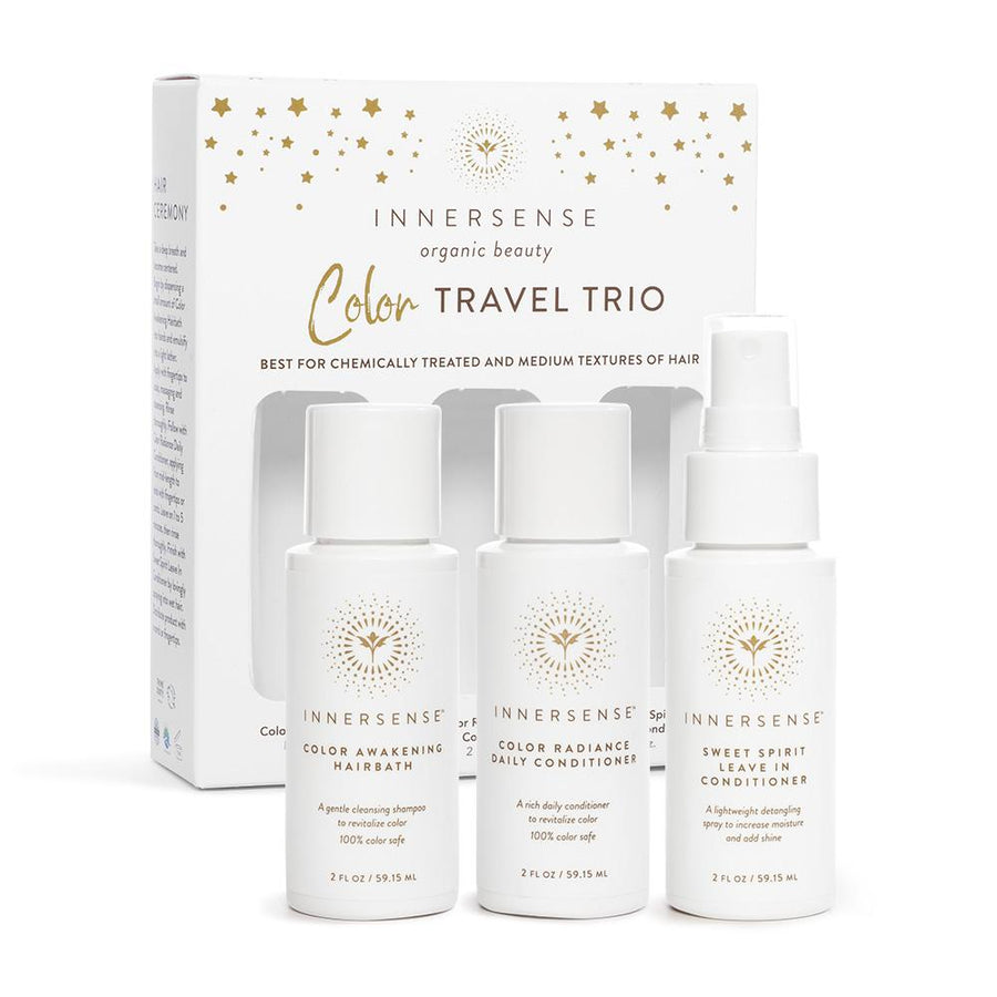 Color Travel Trio Haarsets Innersense Organic Beauty - Genuine Selection