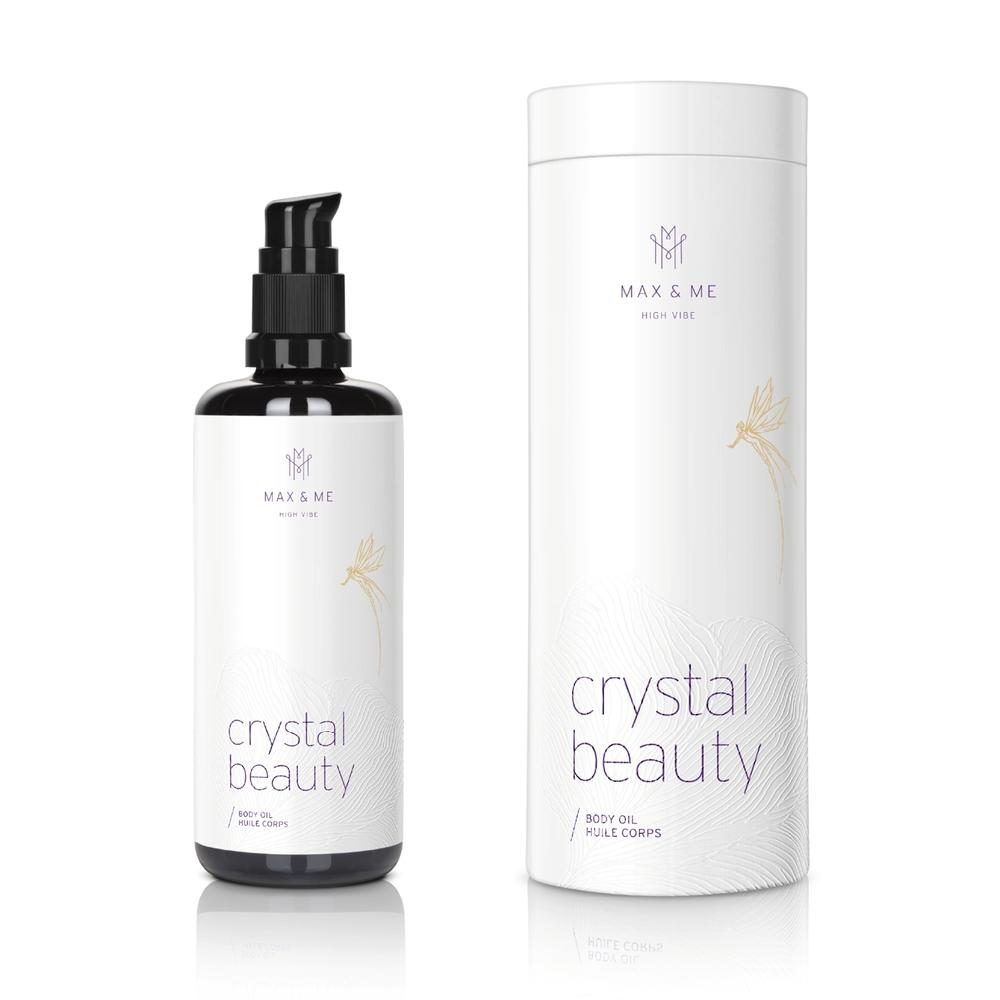 Crystal Beauty Body Oil Körperöl Max and Me - Genuine Selection