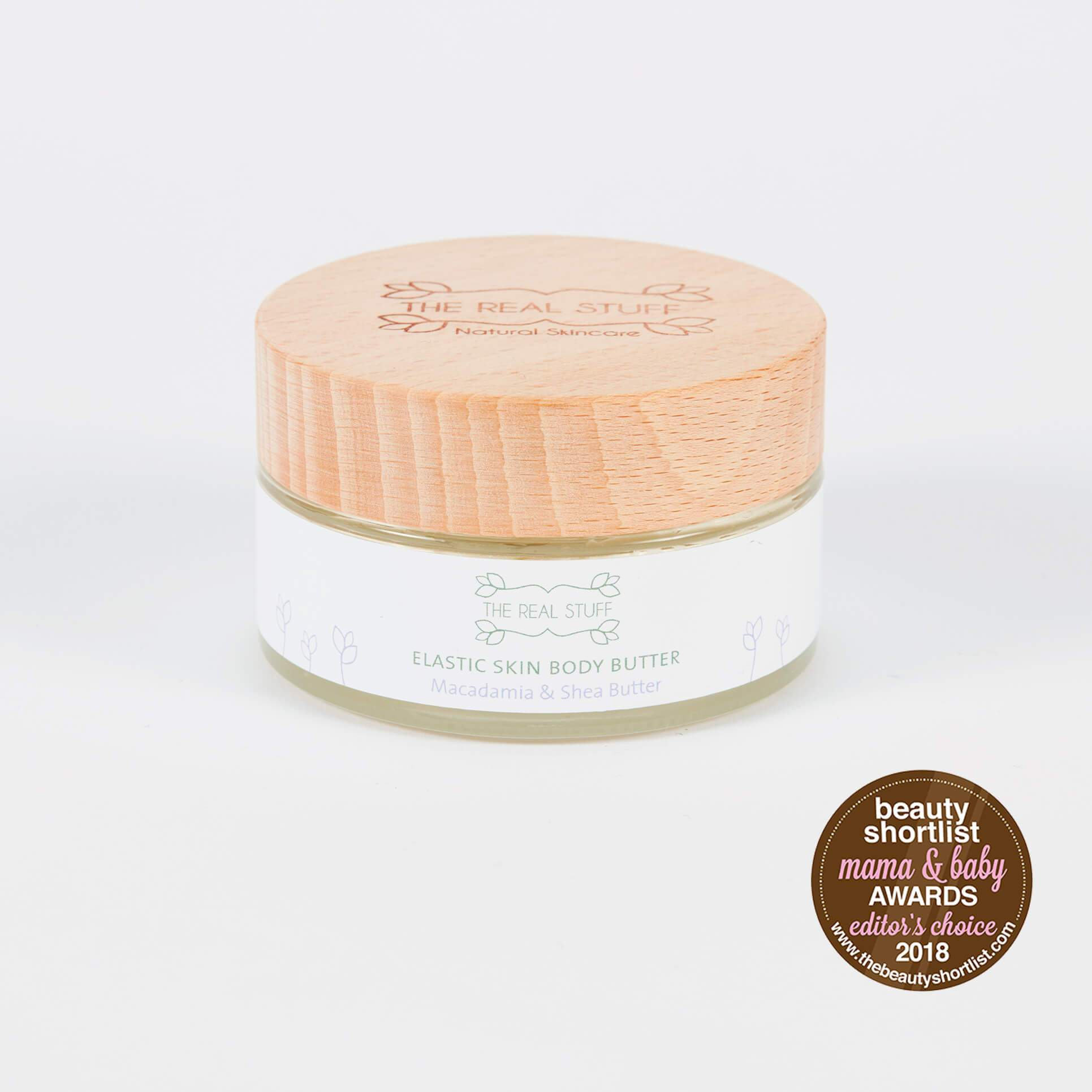 Edible Elastic Skin Body Butter Mama The Real Stuff Organic Skincare - Genuine Selection
