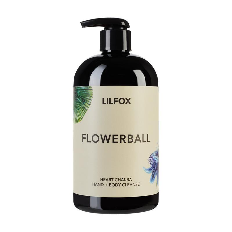 FLOWERBALL Hand & Body Cleanse Seife LILFOX - Genuine Selection