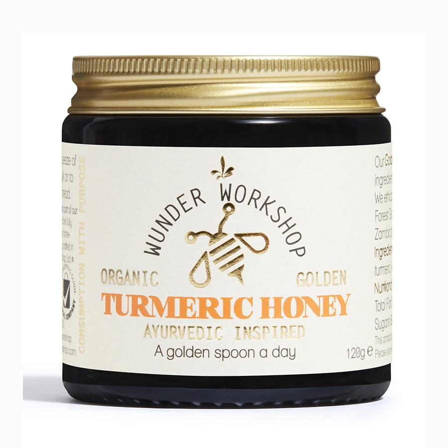 Golden Turmeric Honey Nahrungsergänzungsmittel Wunder Workshop - Genuine Selection
