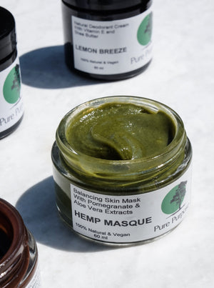 Hemp Masque - Balancing Face Mask Gesichtsmaske Pure Purpose Cosmetics - Genuine Selection