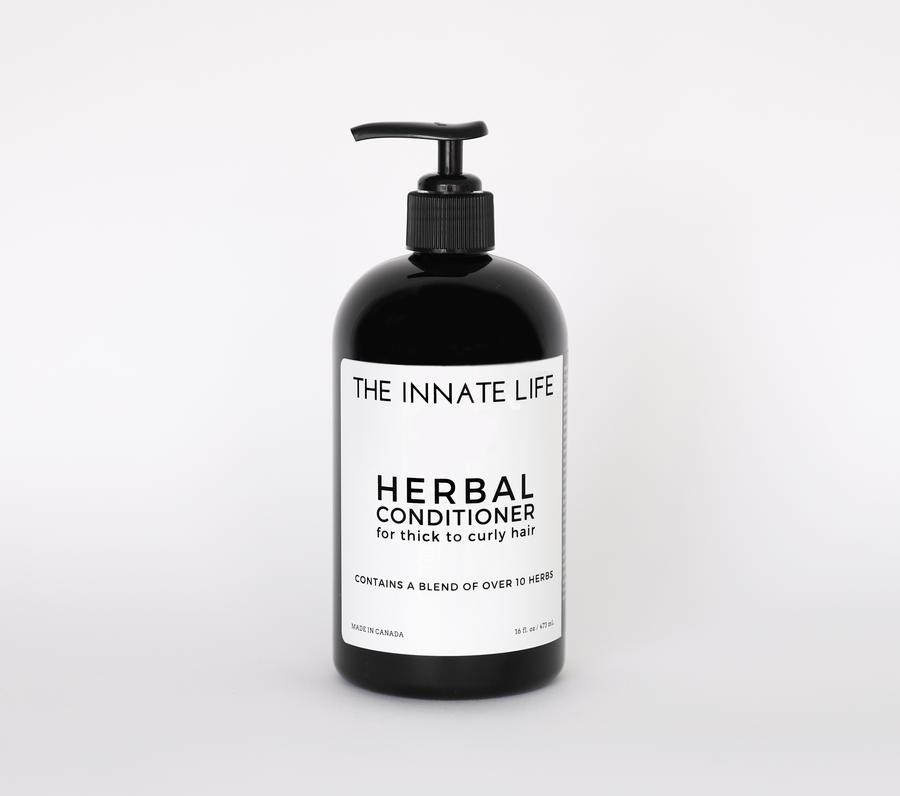 Herbal Conditioner - Thick to Curly Conditioner The Innate Life 236ml - Genuine Selection