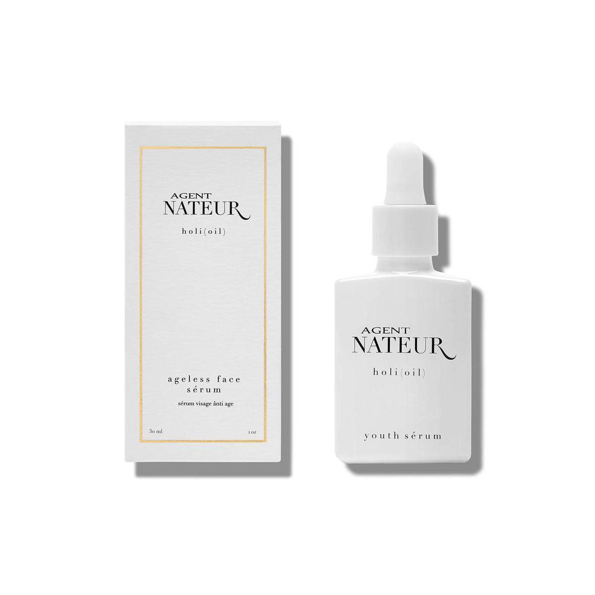 Holi (Oil) Refining Ageless Face Serum Unisex (Vegan) Serum Agent Nateur - Genuine Selection