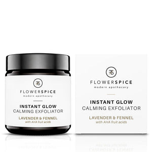 Instant Glow Calming Exfoliator Lavender & Fennel Peeling Flower and Spice 120ml - Genuine Selection