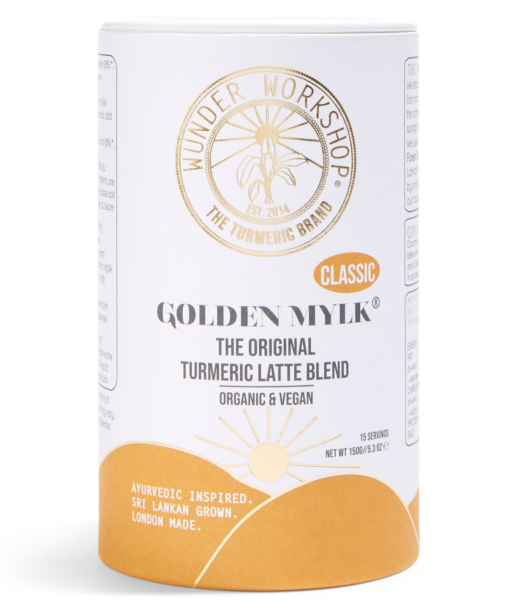 Instantly Golden Turmeric Latte Nahrungsergänzungsmittel Wunder Workshop - Genuine Selection