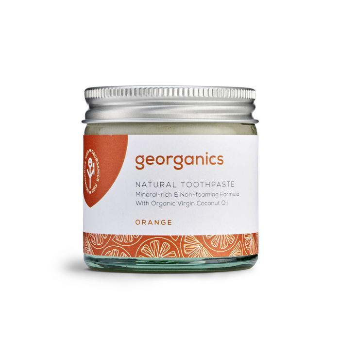 Natural Toothpaste (3 Varianten) Zahnpflege Georganics Orange - Genuine Selection