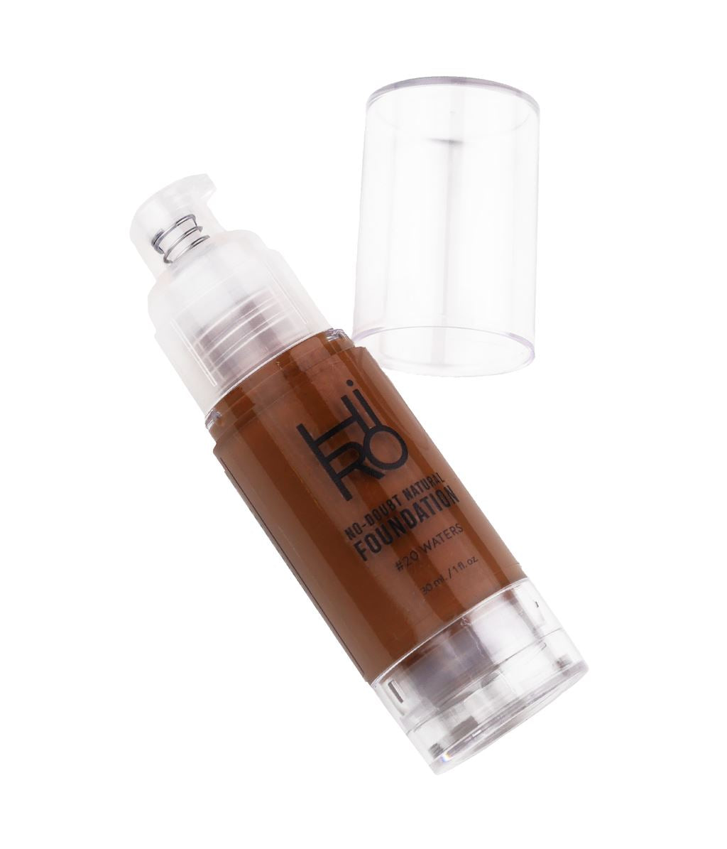 No Doubt Natural Foundation (10 Farben) Grundierung HIRO Cosmetics Waters - Genuine Selection