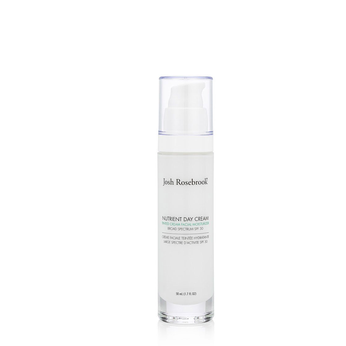 Nutrient Day Cream SPF30 Tinted Airless Pump Tagespflege Josh Rosebrook 30ml - Genuine Selection