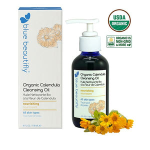 Organic Calendula Cleansing Oil Reinigung Blue Beautifly - Genuine Selection