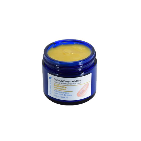 Papaya Enzyme Mask Gesichtsmaske Blue Beautifly - Genuine Selection