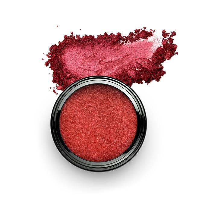 Pigment Colour Powder Lidschatten SHAMANIC Glamour Red #29 - Genuine Selection
