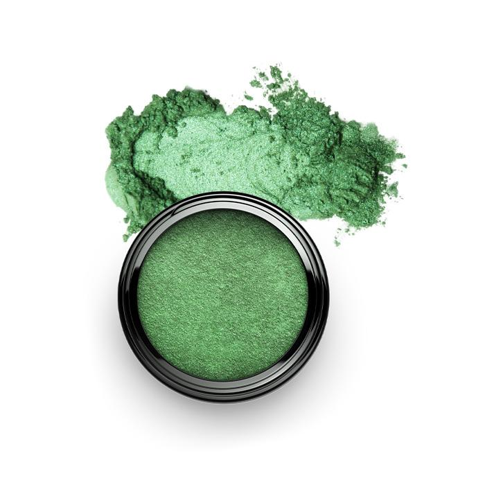Pigment Colour Powder Lidschatten SHAMANIC Glamour Green #28 - Genuine Selection