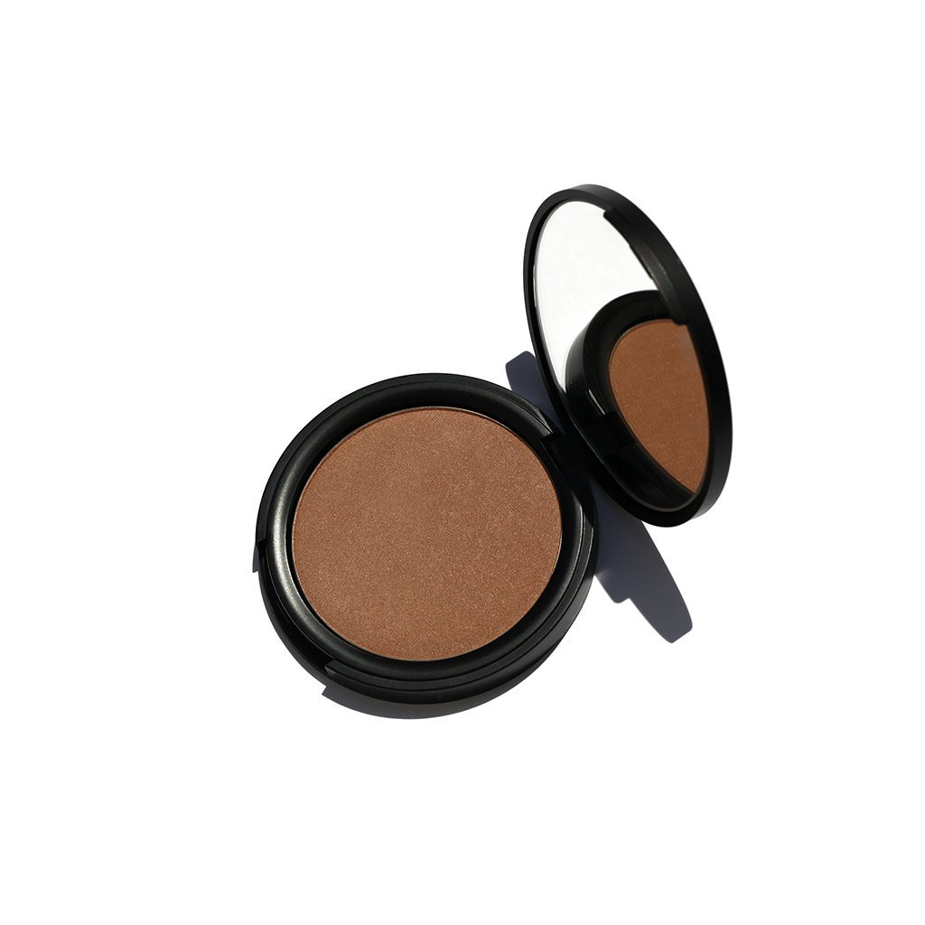 Pressed Powder Bronzer (2 Farben) Bronzer HIRO Cosmetics Glam with a Tan - Genuine Selection