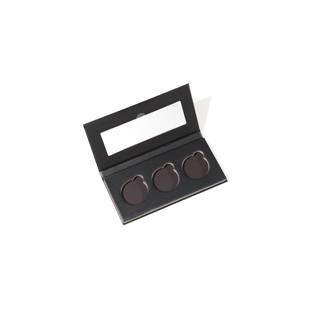 Refillable Makeup Palette (4 Größen) Make Up Paletten HIRO Cosmetics Three is a party - Genuine Selection
