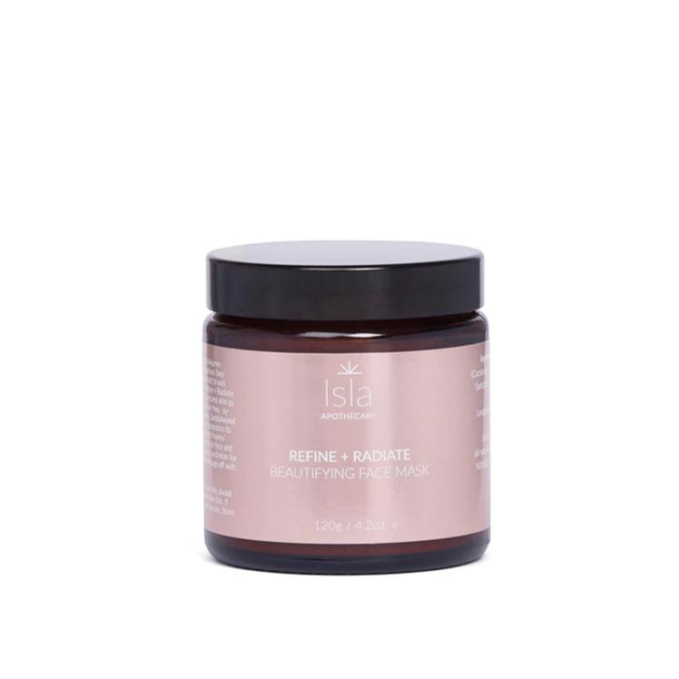 Refine + Radiate Beautifying Face Mask Gesichtsmaske Isla Apothecary 120g - Genuine Selection
