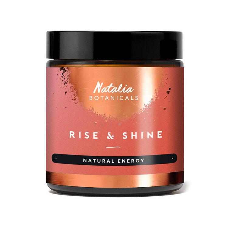 Rise & Shine — Natural Energy Nahrungsergänzungsmittel Natalia Botanicals - Genuine Selection