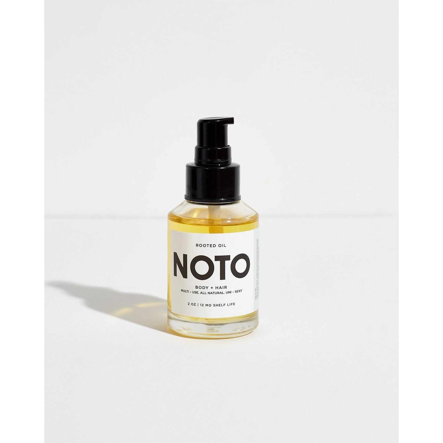 Rooted Oil Körperöle NOTO Botanics 60ml - Genuine Selection