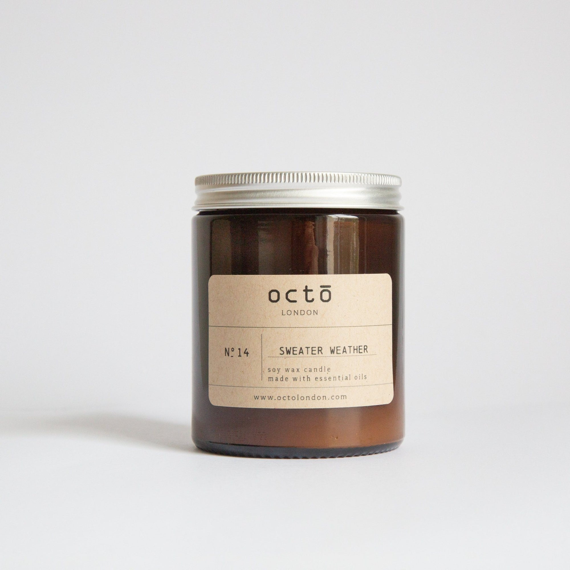 Sweather Weather Candle Kerzen Octo London - Genuine Selection