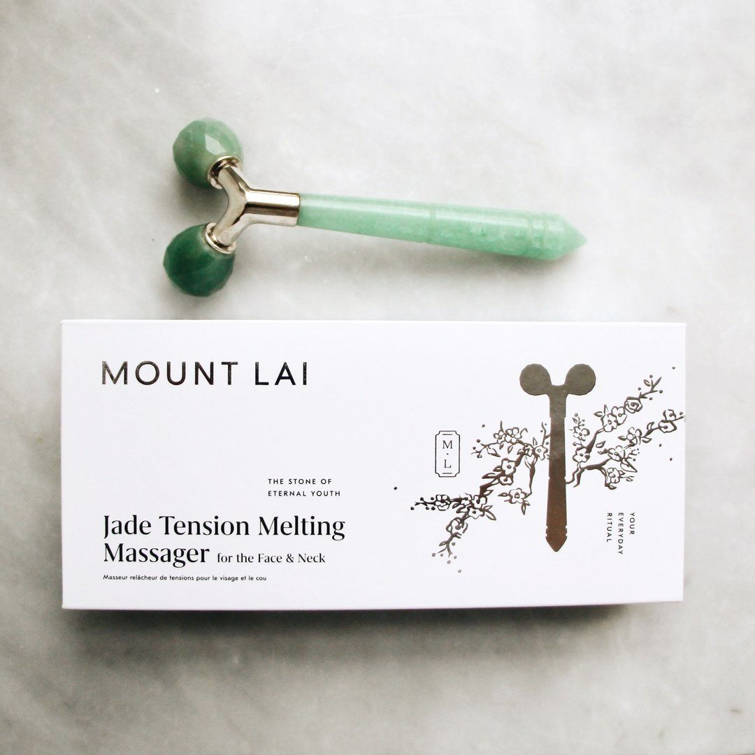 The Jade Tension Melting Massager Facial Tool Mount Lai - Genuine Selection