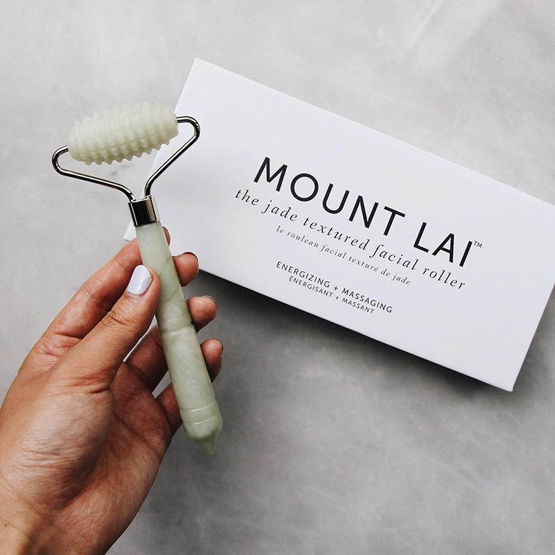 The Jade Textured Facial Roller Facial Tools Mount Lai - Genuine Selection