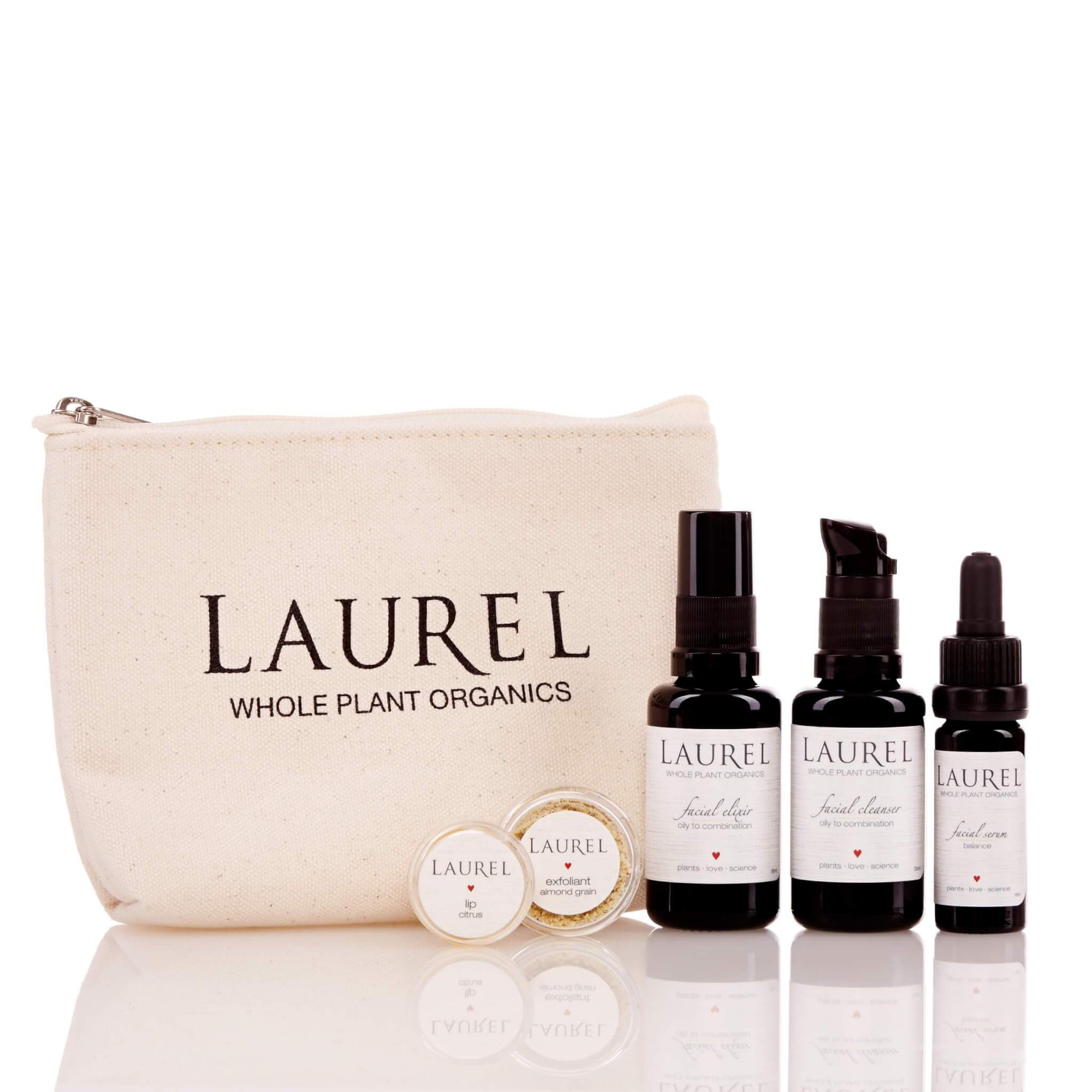 Travel Set (3 Varianten) Reiseset Laurel Skin - Genuine Selection