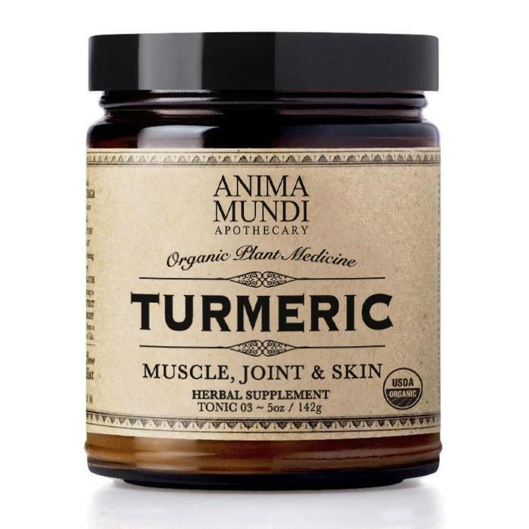 TURMERIC : 100% Organic + Single Origin Nahrungsergänzungsmittel Anima Mundi Apothecary - Genuine Selection