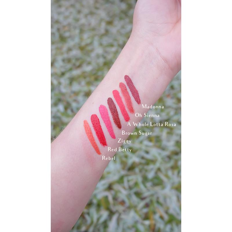 Vegan Lip & Cheek Colour 'Red Betty' Lippenstift Fra Lippo Lippie - Genuine Selection