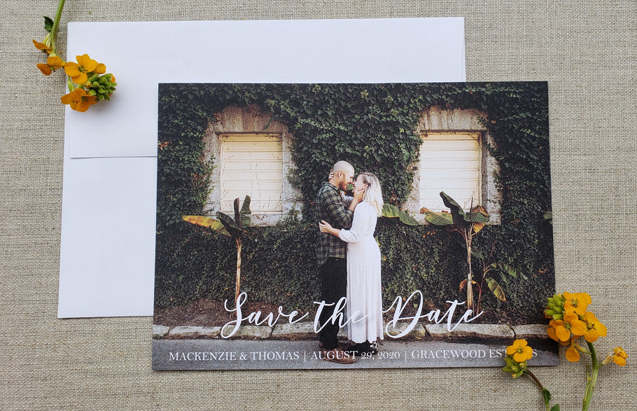 Why You Should Send Out Save the Date Cards