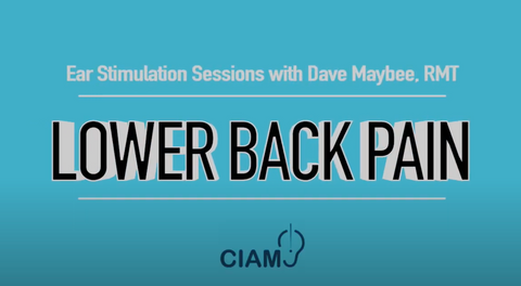 Ear Stimulation Sessions with Dave Maybee, RMT