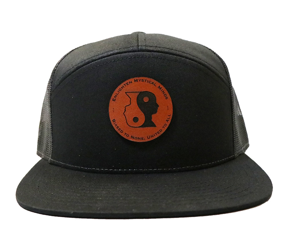 7 Panel Yin Yang Patch Hat