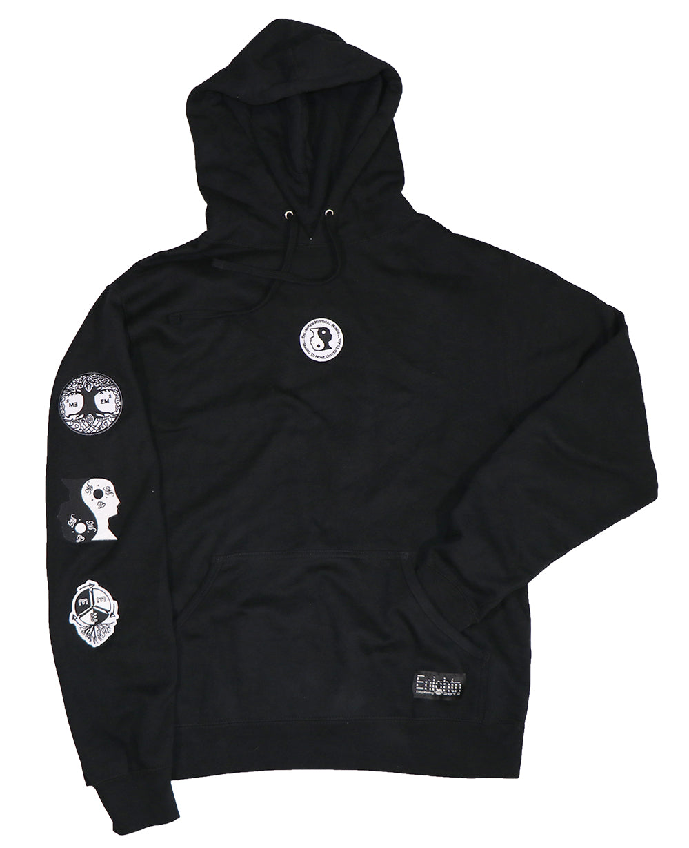 EMM Patched Hoodie