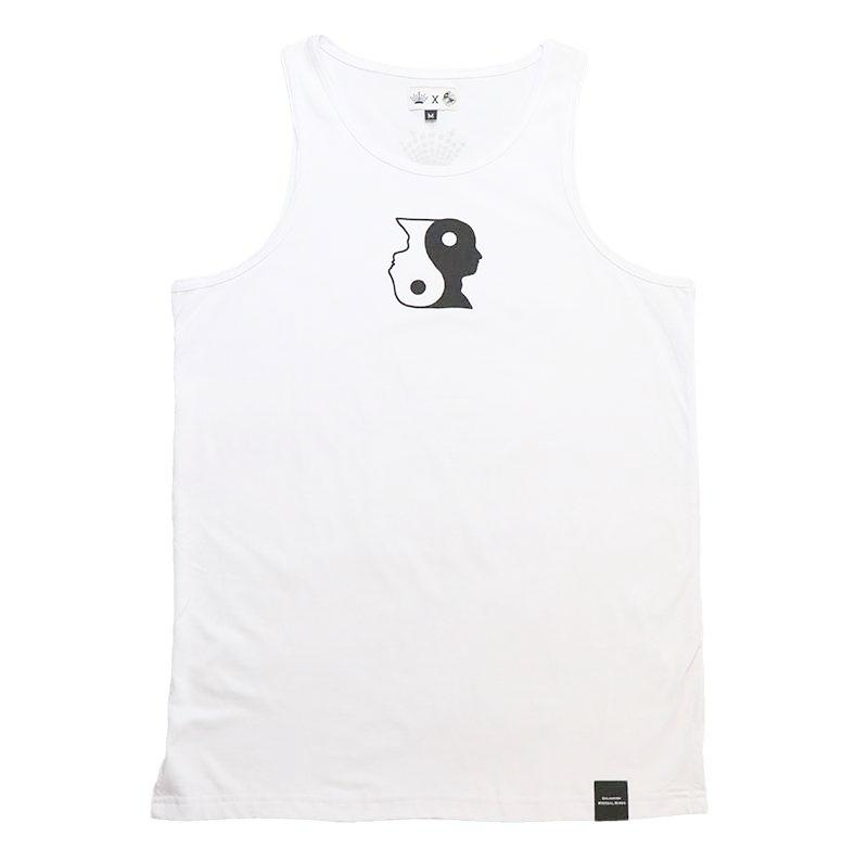 tank top made with Peruvian cotton made to spread the message of enlightenment, available at our clothing store.