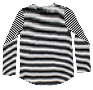Long Sleeve Striped Tee