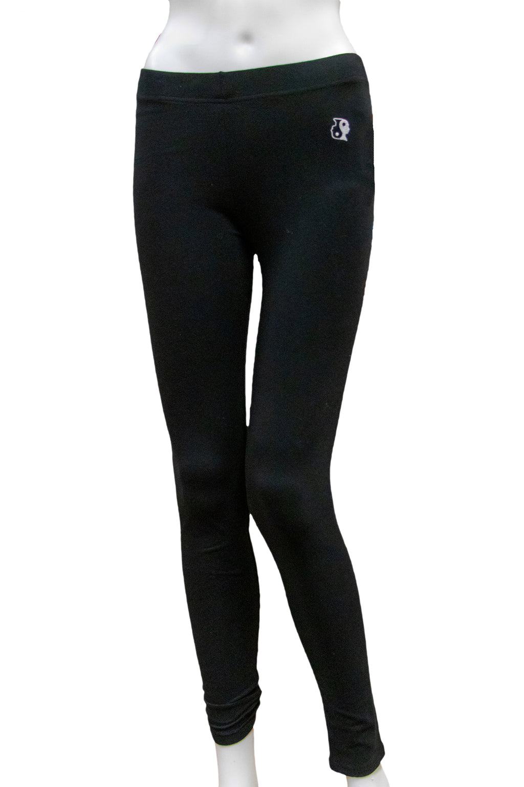 Yin Yang Yoga Leggings (Black)