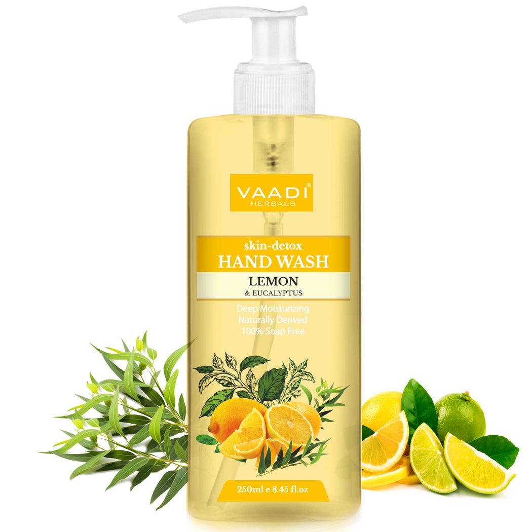 Skin-Detox Lemon & Eucalyptus Hand Wash (250 ml / 8.5 oz)