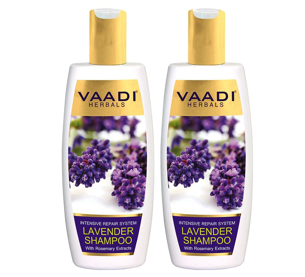 Intensive Repair Organic Lavender Shampoo with Rosemary Extract (2 x 350 ml/ 12 fl oz)