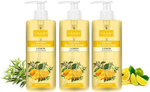 Pack of 3 Skin-Detox Lemon & Eucalyptus Hand Wash (3 x 250 ml / 8.5 oz)